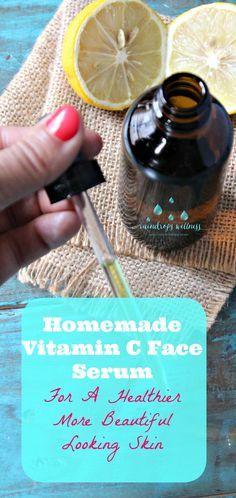 Diy vitamin c serum skincare talk. : Vitamin-C-Serum For Face - Best Anti-Aging Serum - Vit C A Cellulite Wrap, Anti Cellulite, Reduce Cellulite, Cellulite Exercises, Cellulite Remedies, Organic Skin Care, Natural Skin Care, Natural Beauty, Aloe Vera