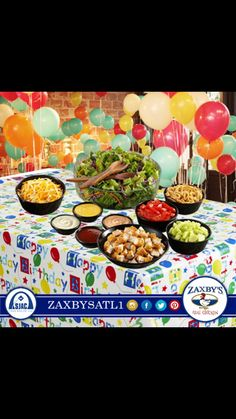Plan your spring Birthday Party Book @ WWW.SJACFOODGROUPS.COM and click on catering!!!!
