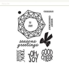 Stamp Set: Wreath at Studio Calico, Outdoor Events, Good Company, Layouts, Free Stuff, Stamps, Cards, November, Creativity