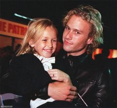 They both are dead now Rip Heath Ledger and Skye McCoyle Bartusiak The Patriot
