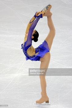 Mao Asada of Japan skates in the Short Program during the ISU Four Continents Figure Skating Championships at Pacific Coliseum on February 4, 2009 in Vancouver, Canada.