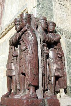 tetrarchia di Costantino Tra 305-312 Piazza San Marco (Venezia) Parte del bottino Veneziano di Costantinopoli