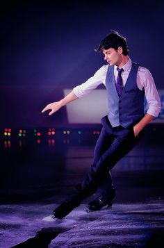 Just had to include this yummy   ….Yep, I've still got time for a jaw-droppingly beautiful picture of Stephane Lambiel.