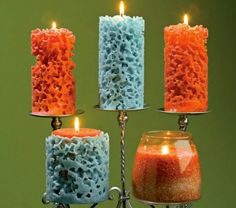 unique ideas for creating candles