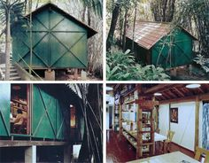 Office of Lina Bo Bardi, Italian architect. Lina Bo Bardi represented the Brazilian International-Style architect, who different from her European and American colleagues included local materials and used the Brazilian landscape for her inspiration.
