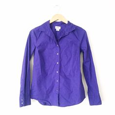 J. Crew Haberdashery Button Down Shirt J. Crew Haberdashery Button Down Shirt. Size XS. Excellent condition with no rips or stains. Minimal normal wear. J. Crew Tops Button Down Shirts