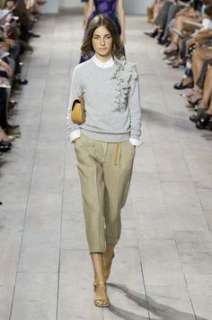 """<p tabindex=""""-1"""">Michael Kors spring 2015 collection show. Photo: Imaxtree</p>"""