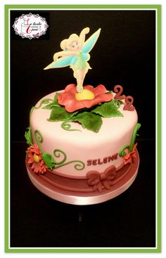 Tinkerbell's cake