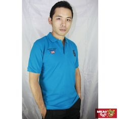 【AMERO】男裝短袖POLO衫(藍)-momo購物網