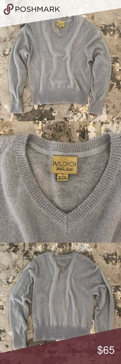 Wild fox sweatshirt -Extremely soft  -Rare smokey grey sweater   A classic piece for my Wildfox lovers! Wildfox Sweaters