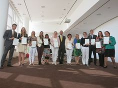 This is how the protocol training ended today: 12 participants were awarded the certificate http://bit.ly/1nXt8qw