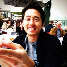 Steven Yeun, The Walking Dead... see good things come from Detroit!!!
