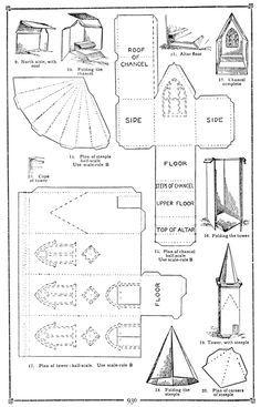 3d church template