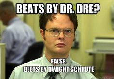 Beets beats Beats