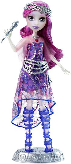 Amazon.com: Monster High Dance the Fright Away Singing Popstar Ari Hauntington Doll: Toys & Games