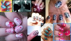 Delightful nail art inspiration provided by our wonderful bh members. Bless 'em and their brilliant digits...