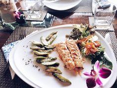 Barracuda italian style. #phangan #villa #villaforrent #resort #romantic #seaview #frangipani #restaurant #swimmingpool #food #nice #calamari #vegan #healthy