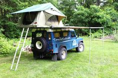 Interesting - Nice Defender 110 build up for South American travels - Expedition Portal