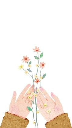 Drawing hand holding rose Ideas for 2019 Art And Illustration, Cute Wallpapers, Wallpaper Backgrounds, Hand Holding Rose, Hands Holding Flowers, Story Instagram, Aesthetic Art, Aesthetic Wallpapers, Cute Art