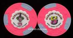 Las Vegas Casino Chip of the day is a $5 Circus Circus 6th issue you can get here http://www.all-chips.com/ChipDetail.php?ChipID=17917  #casinochip #casino #CircuscircusLasVegas