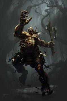 Undead Giant by ~granttheartist on deviantART