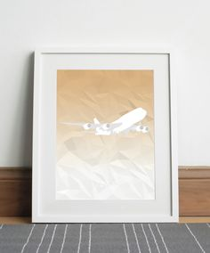 Boeing 747-8 Aircraft - Digital download by Sketch22uk on Etsy