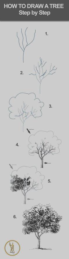 Baum zeichnen More