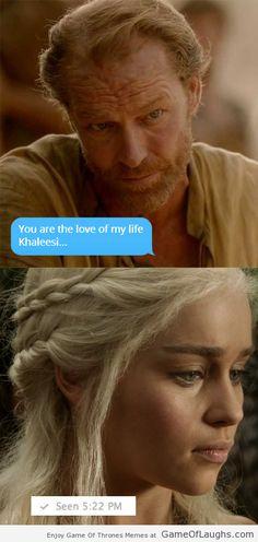 Poor Jorah Mormont. He's so unlucky! - Game Of Thrones Memes