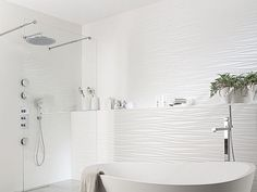 Bathroom tile / indoor / wall-mounted / ceramic OXO LINE BLANCO Porcelanosa
