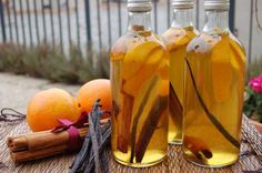 Karácsonyi narancsos vodkalikőr