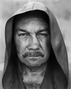 Jean-Pierre Coopman (1946) - retired Belgian boxer, best known for his title fight against Muhammad Ali (1976). Photo by Stephan Vanfleteren