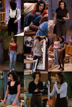 Monica Geller Outfits F.S Fashion Water Fashion Fashion Friends Geller Monica monicage monicageller monicagellerfriends outfits Water Hipster Outfits, Mode Outfits, Fashion Outfits, Fashion Trends, Fashion Women, Women's Fashion, Grunge Outfits, Fashion Watches, Black 90s Fashion