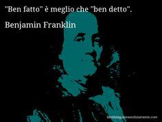 Cartolina con aforisma di Benjamin Franklin (11)