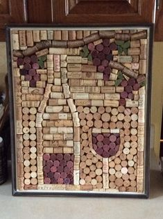 Best Wine Cork Ideas For Home Decorations 12012 #winecrafts #winecorkcrafts #DIYHomeDecorWineBottles
