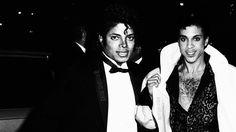 Michael Jackson and Prince