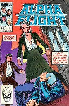 Alpha Flight # 7 by John Byrne
