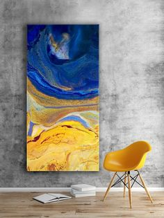 Large Abstract Resin Art Painting Giclee Print Extra Large Wall Art Oversize Loft Style Home Decor Modern Art Space Fantasy Made to Order - Große abstrakte Malerei Kunstdruck Extra große Wand Kunst Flow Painting, Pour Painting, Encaustic Painting, Painting Process, Painting Canvas, Oversized Canvas Art, Extra Large Wall Art, Art Moderne, Abstract Wall Art