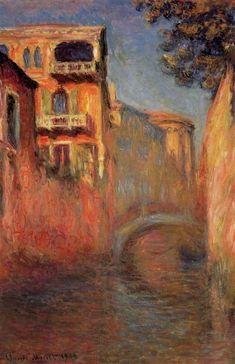Rio della Salute by Claude Monet,