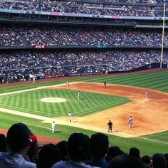 Yankee Stadium 9-1-12 Mom's birthday!!
