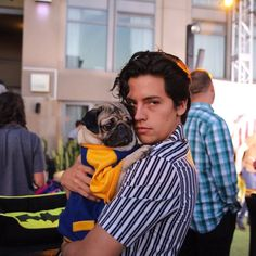 "Cole Sprouse ""The bromance of our generation"" - Doug The Pug via twitter"