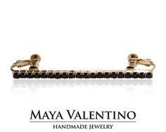 Gold Ear Cuff Clip On Ear Cuff Ear Crewel by MayaValentino Prom Jewelry, Jewelry Model, Bridesmaid Jewelry, Handmade Jewelry, Unique Jewelry, Handmade Gifts, Climbing Earrings, Silver Ear Cuff, Wedding Trends