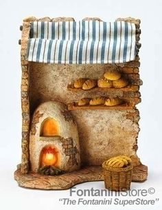 7.5 Inch Scale Lighted Bakery shop, Fontanini® found at FontaniniStore.com