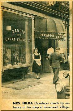Caffe Reggio on MacDougal Street