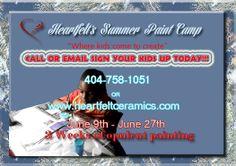Heartfelt Summer Paint Camp