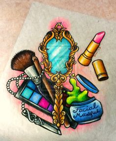 Esthetics Tattoo Design - Commission for *TeaFairy by 16Shokushu.deviantart.com on @deviantART