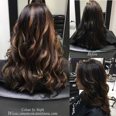 We love changing hair with the seasonsSteph added ribbons of caramel balayage throughout this clients hair to give a beautiful contrast she then finished the look with soft waves #simonconstantinou #behindthechair #modernsalon #iamgoldwell #goldwell #kms #goldwelluk #balayage #brunettebalayage  If you would like to book in with Steph or one of our talented colourists call us on  02920461191 O.Constantinous & Sons. 99 Crwys Rd Cardiff. CF24 4NF.