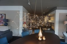 Quasar Universe hanglamp | Quasar Hanglampen available at Hoogebeen Interieur Universe, Chandelier, Ceiling Lights, Led, Lighting, Home Decor, Light Fixtures, Outer Space, Ceiling Lamps