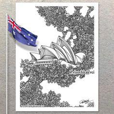 "3,647 Likes, 6 Comments - Visothkakvei (@visothkakvei) on Instagram: ""Happy Australia 🇦🇺 Day to all my Australian Friends! Today the Sydney - Extrusion Prints Available.…"""