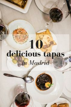 If you're visiting Madrid, there's one thing you absolutely must do: eat all 10 of these tapas!  Foodies will love our travel guide to tapas and restaurants in Spain's capital city, and everyone will love Spanish food after trying these plates. #tapas #foodie #foodblog #delish #travelling #traveltip #europe