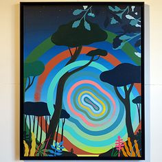 Univers Steven Burke Steven Burke, Umbrella Art, Anime Art Girl, Artsy, Canvas, Artwork, Inspiration, Memphis Milano, Interview